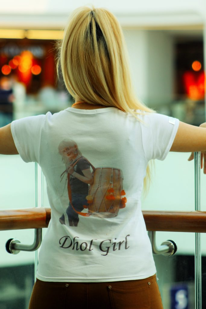 Dhol Girl T-Shirt